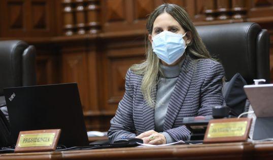 María del Carmen Alva propone reunirse con Mirtha Vásquez este 18 de octubre