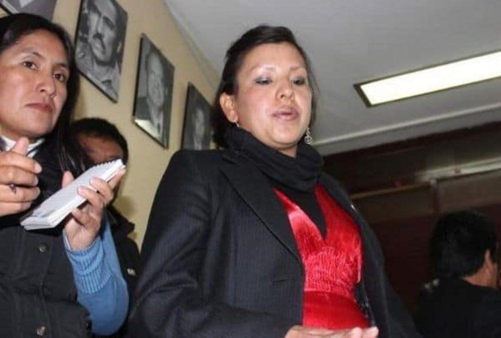 Fundadora de Perú Libre es nombrada embajadora en Bolivia