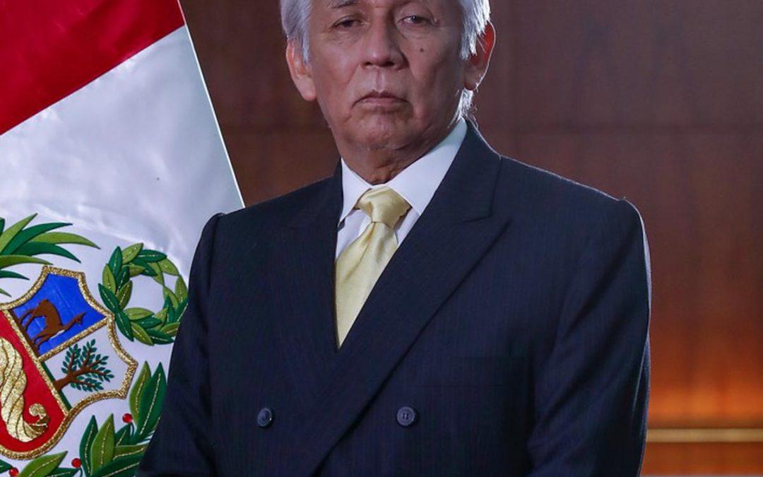 Eduardo González Toro informó reorganización del MINEM