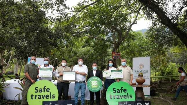 Alto Mayo-Tarapoto: Le otorgan diploma de destino sostenible