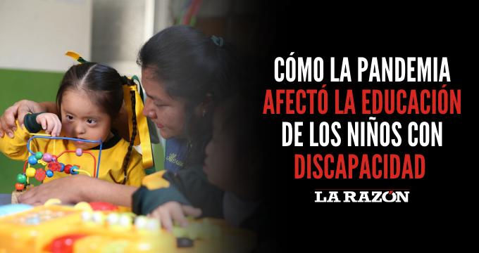 Cómo la pandemia afectó la educación de los niños con discapacidad
