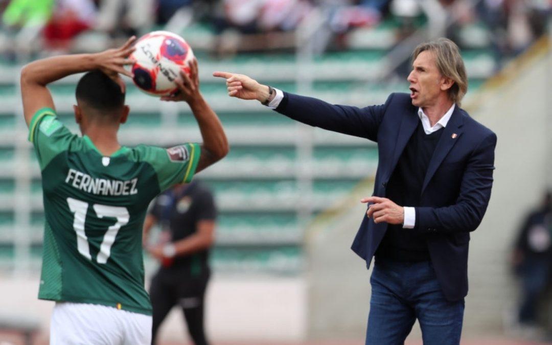Ricardo Gareca: «Estamos muy mermados por el resultado»