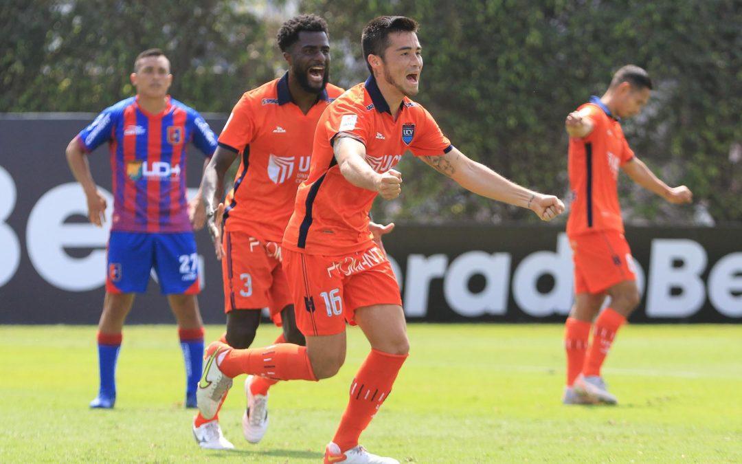 Rodrigo Cuba: «El gol me lo dedico a mí mismo»