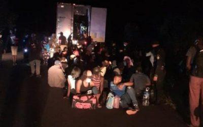 Guatemala: Policía rescata a 126 migrantes indocumentados