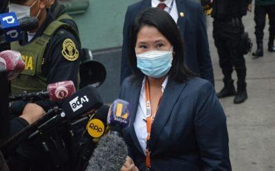"""Keiko Fujimori: «Bellido es una dinamita para nuestra democracia"""""""