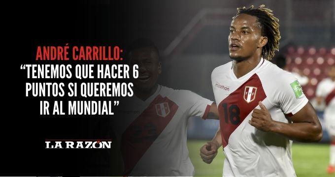 """Carrillo: """"Tenemos que hacer 6 puntos si queremos seguir batallando por el Mundial"""""""
