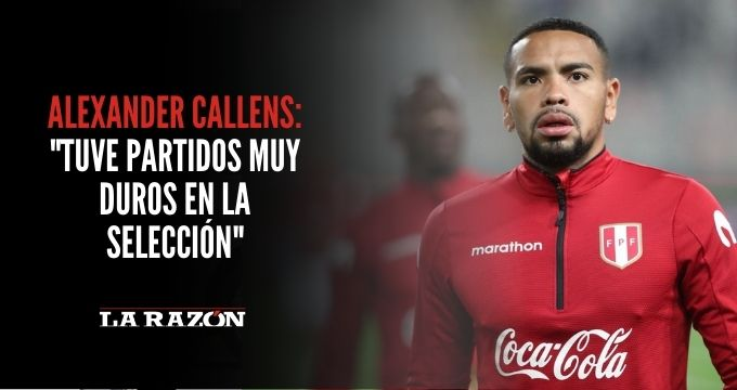 Callens: «Tuve partidos muy duros en la Selección»