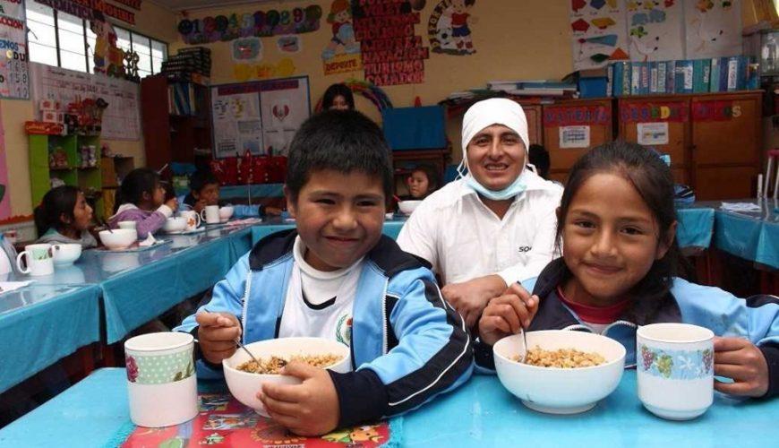 Lambayeque: Qali Warma prepara séptima entrega de alimentos en escuelas
