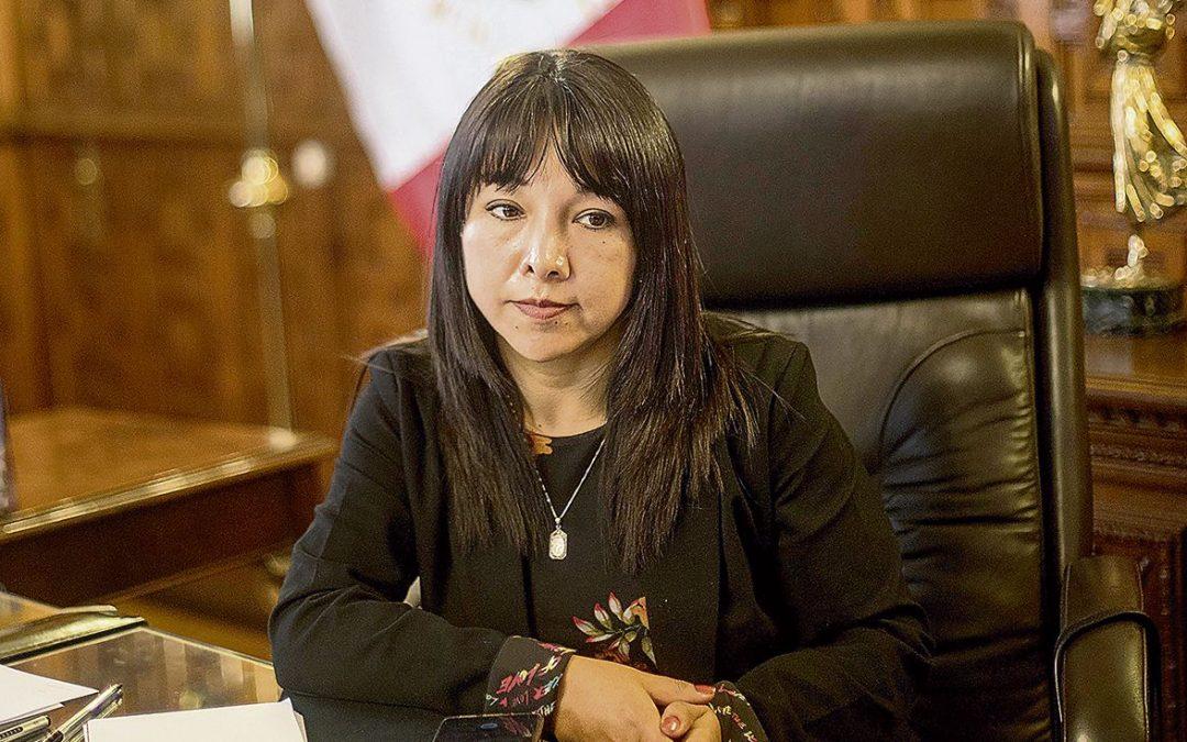 """Mirtha Vásquez al Congreso: """"Les pido caminar hacia un horizonte de diálogo y arduo trabajo"""""""