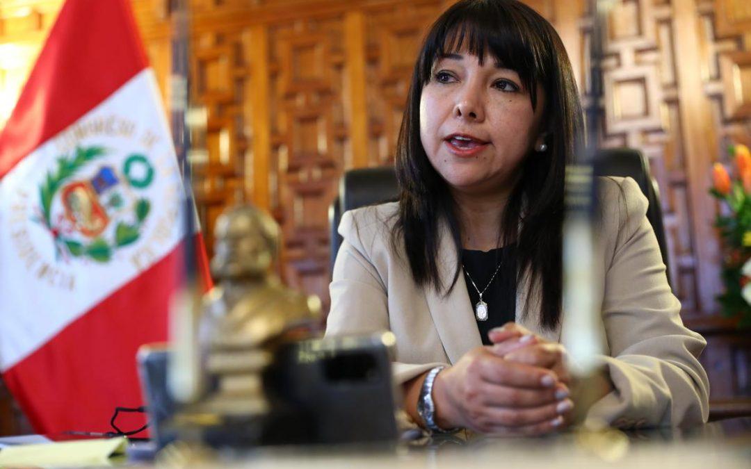Mirtha Vásquez: «Para julio 2022, el 99% de instituciones educativas atenderán plenamente»