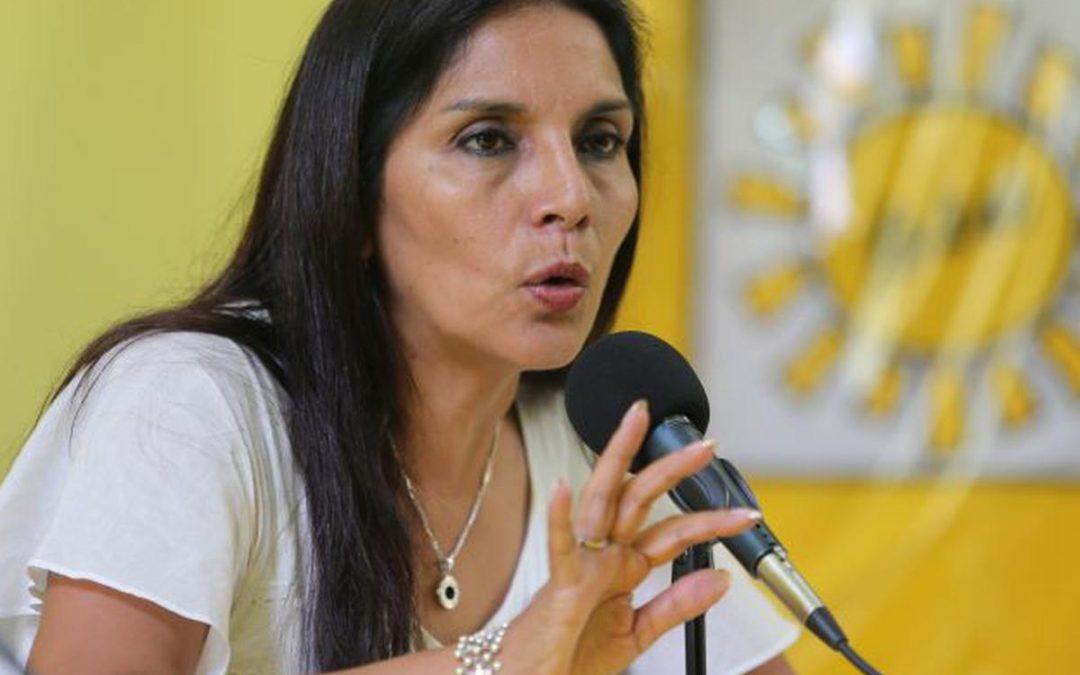 Patricia Juárez: «Lo único que ha hecho el Congreso es recuperar el equilibrio perdido»