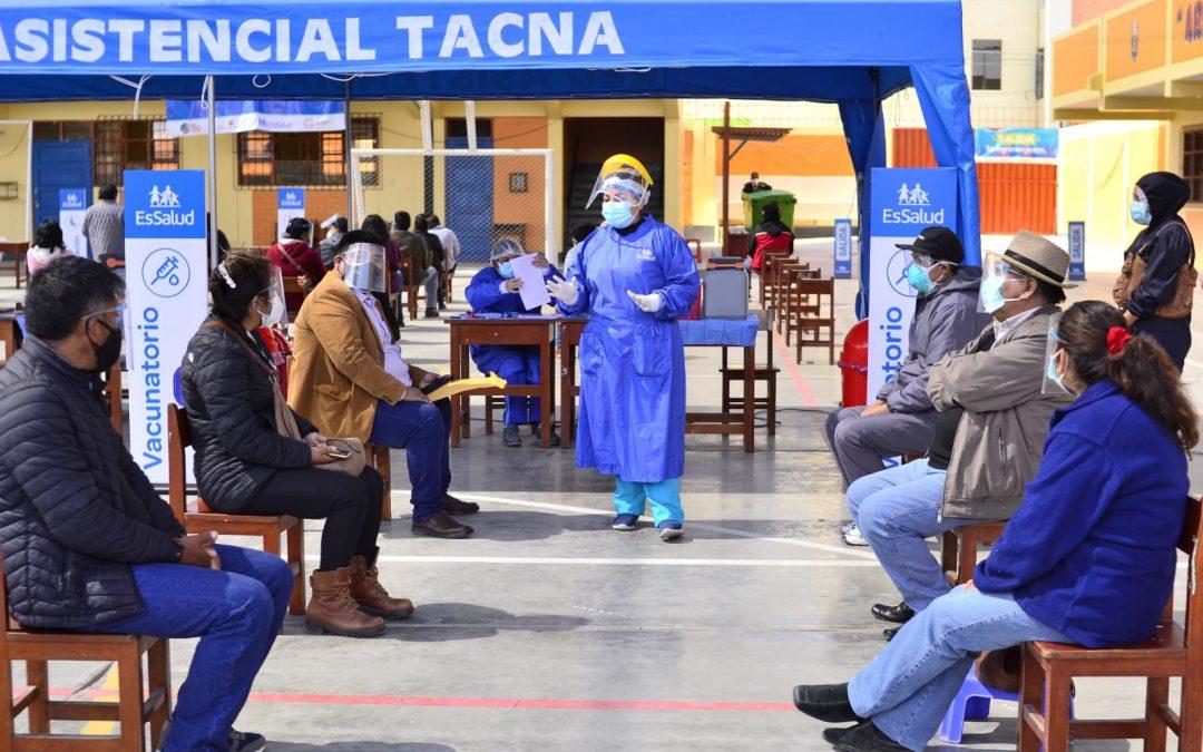 Tacna se encuentra cerca de lograr la 'inmunidad de rebaño'
