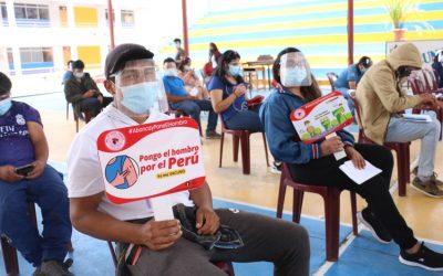 Covid-19: Perú cuenta con el 65% de población mayor de 25 años inmunizada