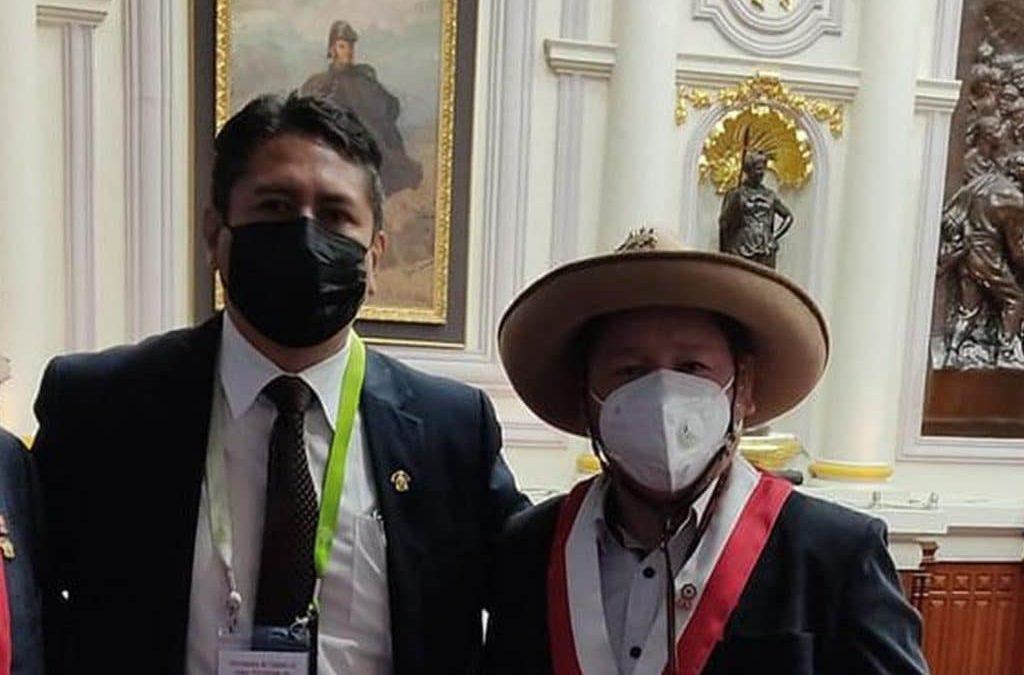 Bellido tilda de «persecución política» las investigaciones contra Cerrón