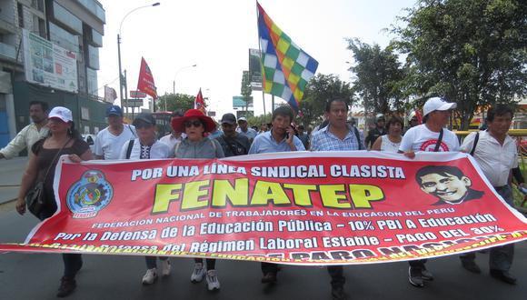 Fenate Perú asegura que Iber Maraví es parte del sindicato