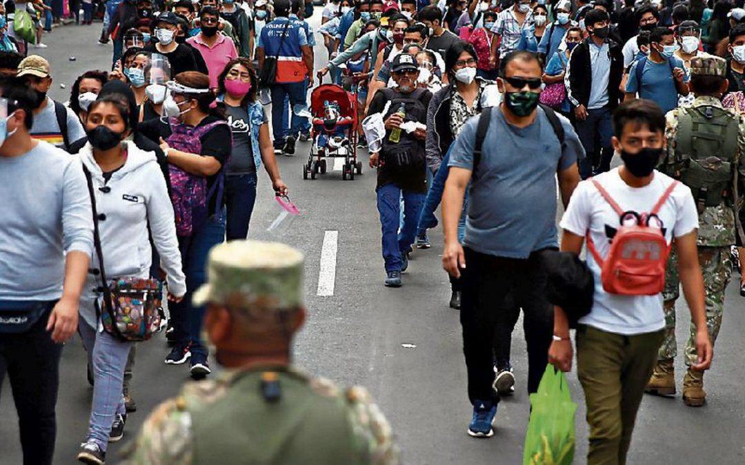 Lima Metropolitana y Callao siguen en nivel moderado