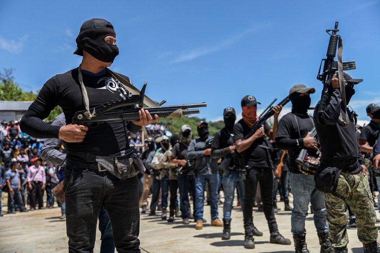 Congo Colombia y México, con la más alta criminalidad mundial