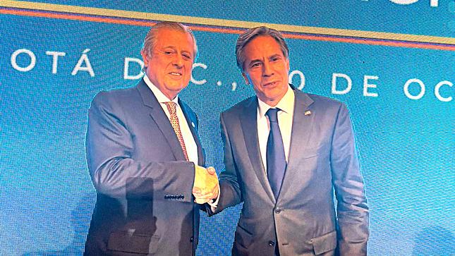 Maúrtua se reunió con secretario de Estado de EE.UU.