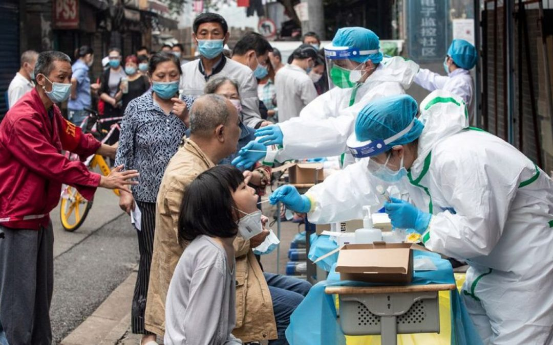China sufre rebrote de covid e insta a 11 provincias entrar en emergencia