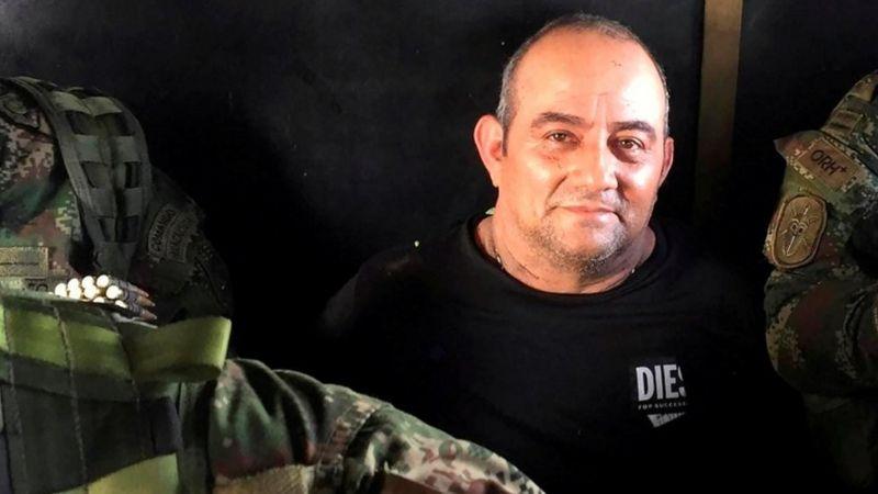 Capturan a Otoniel, el narco más buscado después de Pablo Escobar
