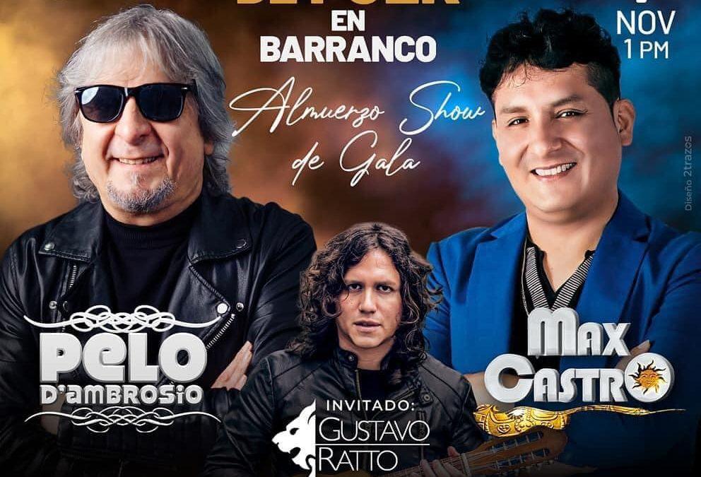 La música andina se reactiva con Pelo D'Ambrosio, Max Castro y Gustavo Ratto