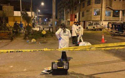 Asesinan a un hombre con más de 25 disparos en Ate Vitarte
