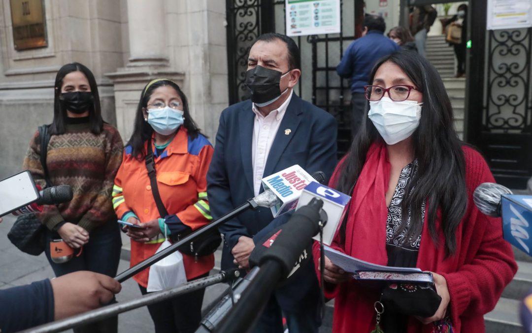 Juntos Por el Perú respaldará gabinete Vásquez
