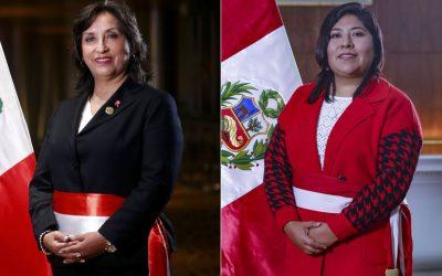 """Dina Boluarte y Betssy Chávez: """"No nos amedranta la amenaza de expulsión"""""""