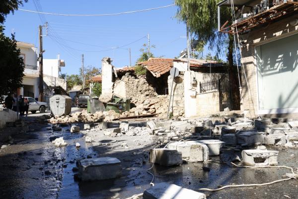 terremoto isla Creta