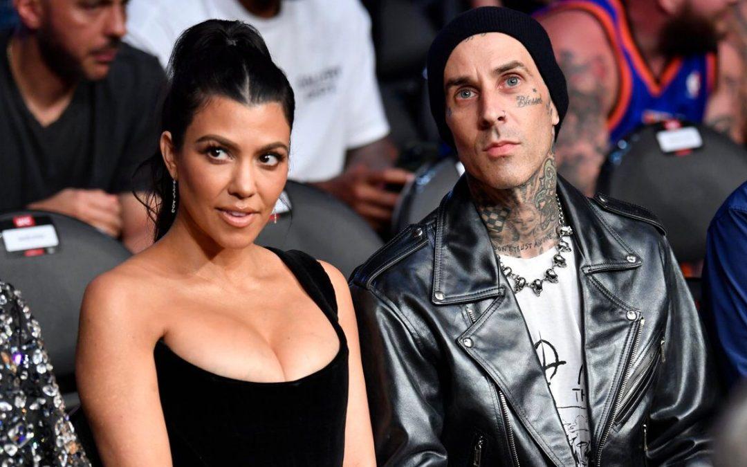 Kourtney Kardashian y Travis Baker se comprometieron